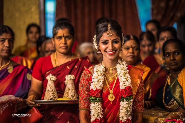 Red Lehenga Bride - Traditional Wedding Photography by Framehunt Photography Ernakulam, Kochi